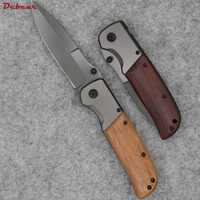 Dcbear new tactical folding knife with 3cr13mov blade titanium surface camping pocket tools g080 .jpg 200x200