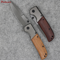 Dcbear new tactical folding knife with 3cr13mov blade titanium surface camping pocket tools g080 .jpg 250x250