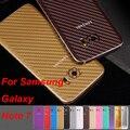 New 3D Carbon Fiber Full Body Back Film Sticker Case Cover Wrap Skin For Samsung Galaxy S6/S6 Edge/S6 Edge Plus/S7 Edge