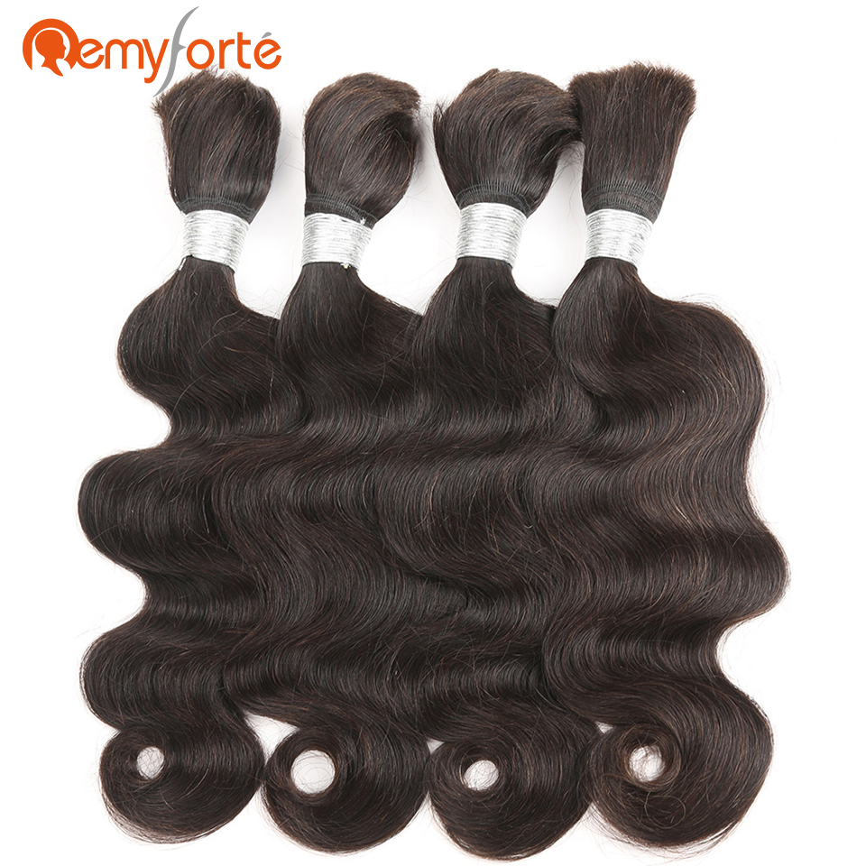 Remy Forte Hair Brazilian Body Wave Crochet Braids Human Hair
