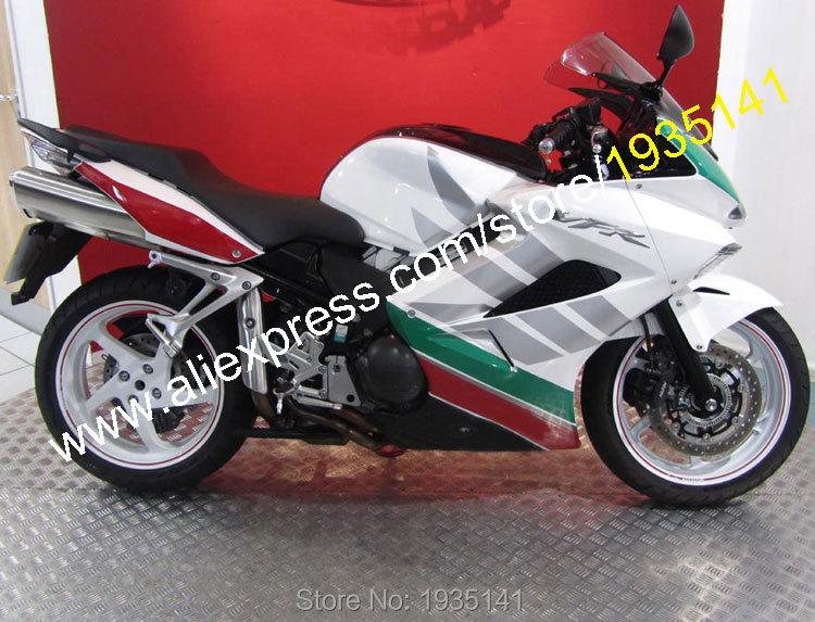 Горячие продаж,для Honda ПВП 800 VFR800 2002-2012 02-12 Multi-цвет кузова послепродажного мотоцикл обтекатель комплект (литья под давлением)