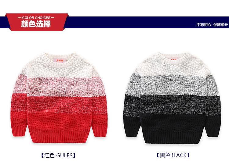 winter sweater baby boy christmas sweater for girls cardigan for girls pullover gentleman red sweater for boy black sweaters for kids (14)