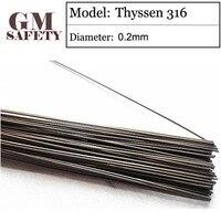 Thyssen 316 Of 0 2mm Soldering Iron Mould Steel Laser Welding Wires For Solder Welders Made