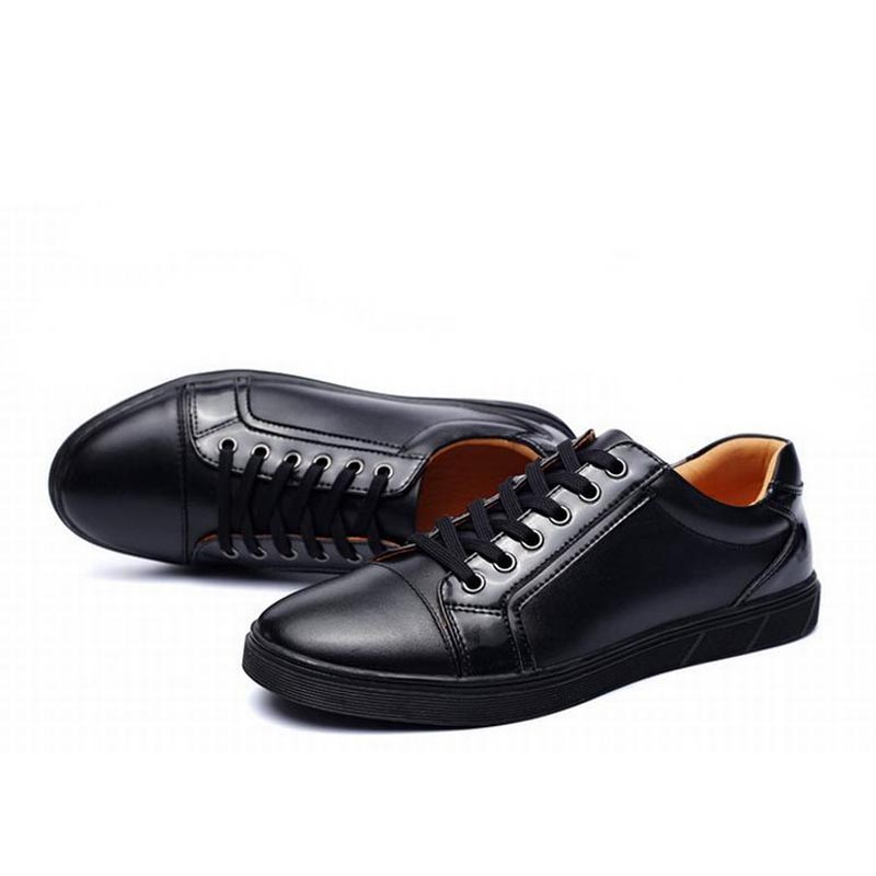 2017 fashion men shoe genuine leather flat lace up man dress party business casual shoes zapatillas deportivas zapatos hombre 2017 new summer breathable men casual shoes autumn fashion men trainers shoes men s lace up zapatillas deportivas 36 45