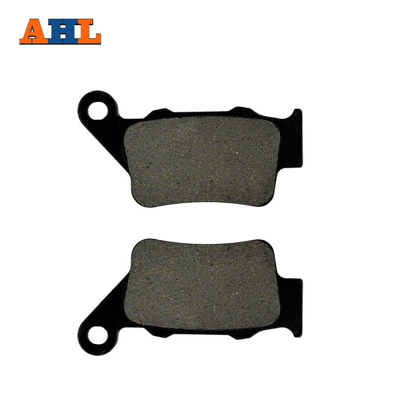 AHL Motorcycle Brake Pads Rear Disks For <font><b>Yamaha</b></font> XT 660 R/ XT 660 X Supermoto (04-16) <font><b>XT660</b></font> XT660R XT660X image