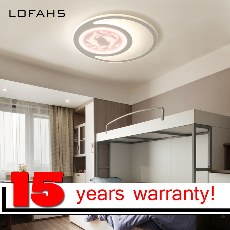 LOFAHS Modern LED ceiling lights for girls bedroom with remote control Pink light Pisces acrylic ceiling lamp fixtures round led ceiling light white modern acrylic ceiling lamp dimmable with remote control for kids bedroom lighting fixtures