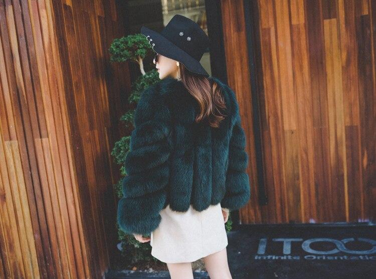 larga piel sintética chaquetas 12