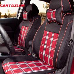 CARTAILOR Custom Fit Чехлы для автомобильных сидений салонные аксессуары для TOYOTA SIENNA Авто сиденья Protecion шотландская клетка сиденья