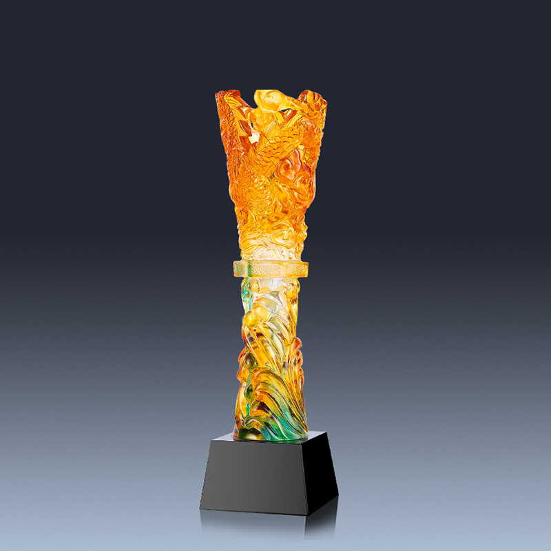 Бесплатная Индивидуальный элегантный глазурь Кубок трофей сувенир превосходное развлечения команда Спорт Чирлидинг достижения награды