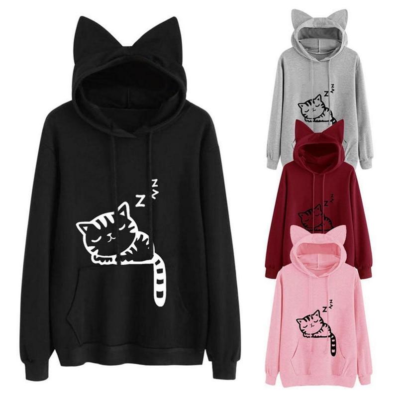 hoodies with cat ears