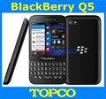 "Abierto original blackberry q5 teléfono móvil dual-core 3.1 ""pantalla táctil + qwerty 3g y 4g gsm 5.0mp 2 gramos + 8 grom freeshipping"