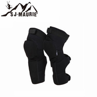 Adult Motorcycle Protector Skiing Cycling Hiking Basketball Volleyball Long Knee Pads Support Kevlar Breathable Brace
