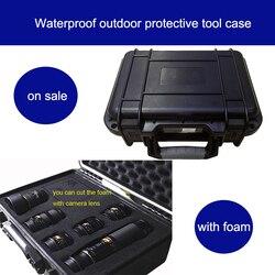 أداة حالة للماء الأدوات غطاء واقٍ مزخرف لهاتف آيفون سلامة أداة علبة عداد 25x21x6 CM الأمن المعدات كاميرا مربع مع قبل قطع الرغوة