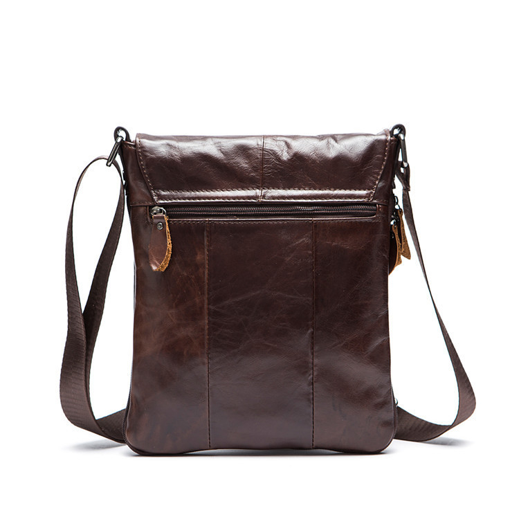 328a6cb881 AETOO First layer of leather shoulder bag vertical section of men s leisure Messenger  bag leather men bag-in Crossbody Bags from Luggage   Bags on ...