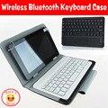 10.1 дюймов универсальный беспроводной Bluetooth клавиатура чехол для Mircosoft поверхность RT 10.1 дюймов, Бесплатных 3