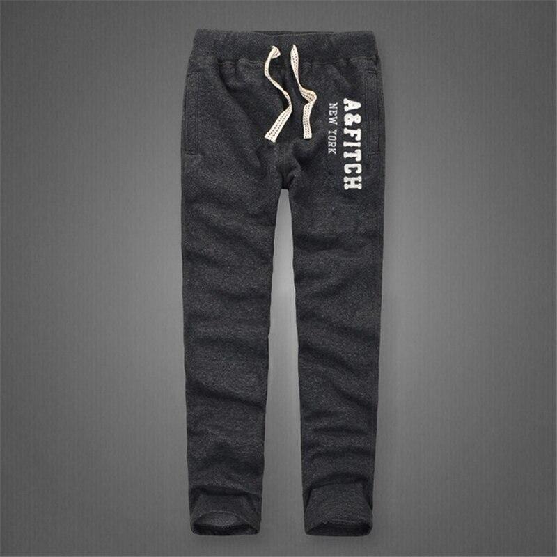Image 4 - Зимние штаны для мужчин, Плотные хлопковые спортивные штаны, длинные брюки, мягкие и дышащие штаны для бега, размеры от s до 3XL-in Спортивные брюки from Мужская одежда
