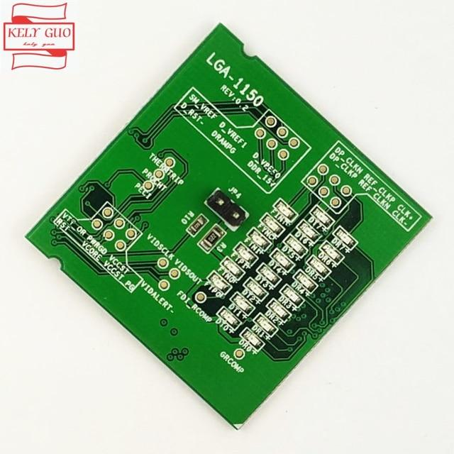Brand New Desktop LGA1150 LGA 1150 Fake Loading Board Test Card CPU Socket Tester