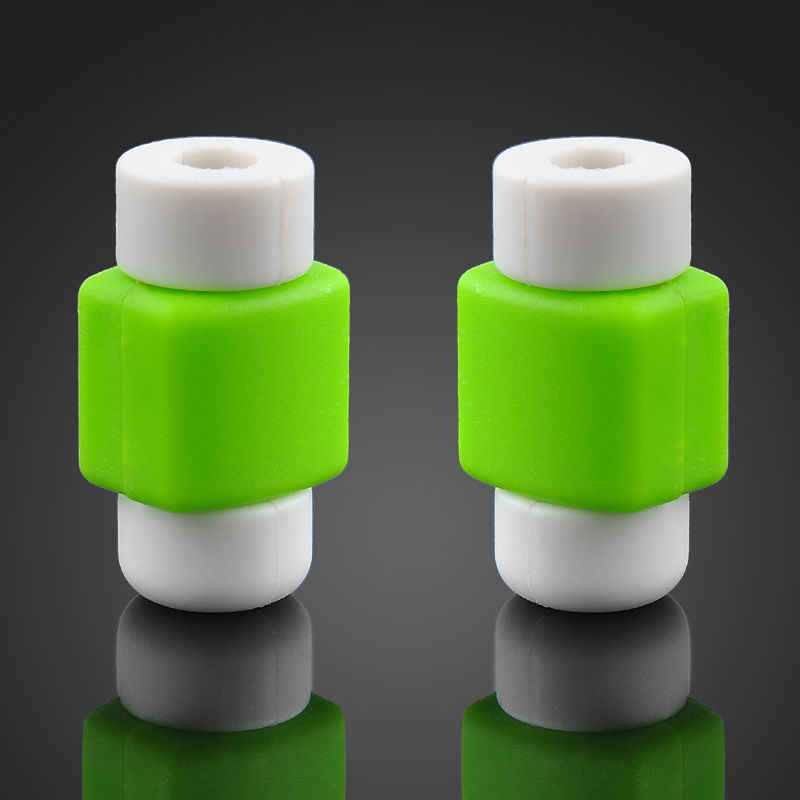Venta caliente cargador Protector de Cable Compatible para Apple iPhone X 7 8 6 S 5 5S carga de Macbook accesorios de teléfono de ahorro de Cable