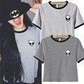 2016 Nueva Moda de Impresión 3d camisa corta de Manga Corta Camiseta Mujeres camisetas Adolescentes Extranjeros Camisetas mujeres Tops HH