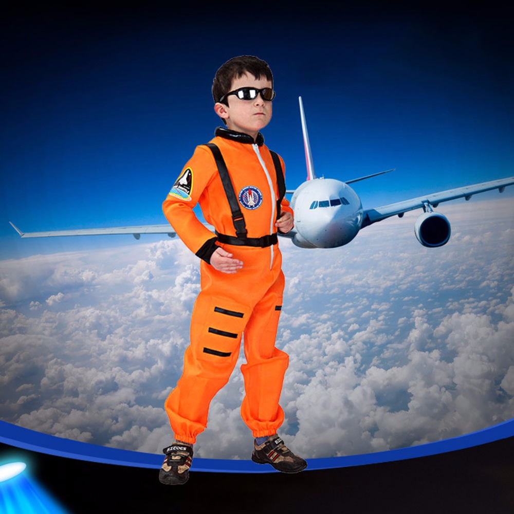 New Kids Halloween Astronaut Costume Suit Astronaut Costume for Kids Boy Holiday Masquerade Party Cosplay Clothing For Boys цены онлайн