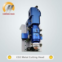 CARMANHAAS 500W CO2 Laser Cutting Head Autofocus Metal Non metal Mixed Cutter for Laser Cutting Machine
