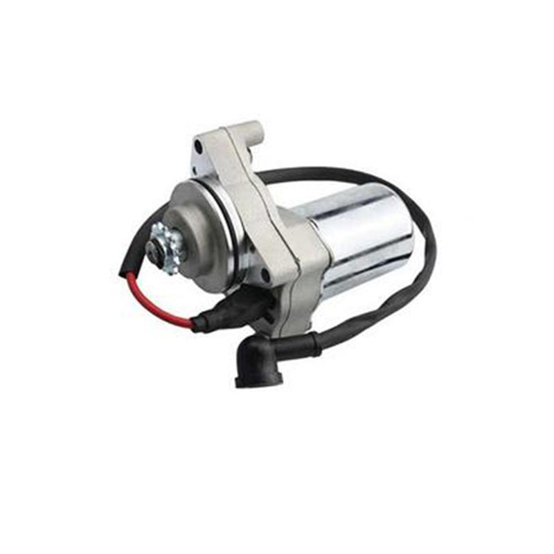 Electric Starter <font><b>ATV</b></font> <font><b>Motor</b></font> 3 Bolt Top Mount Starter for 4 Stroke Engine ATVs 50cc 70cc 90cc <font><b>110cc</b></font> 125cc 140cc Engine image