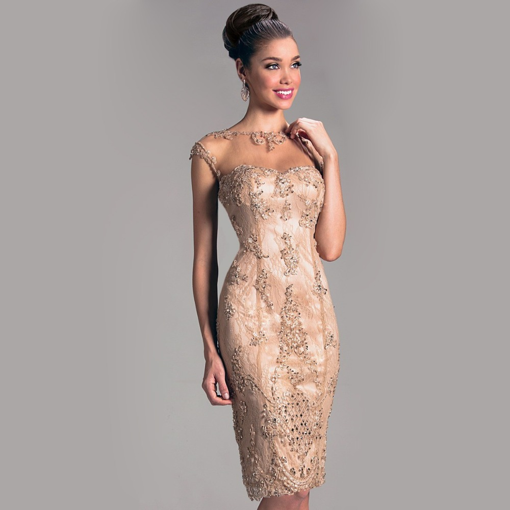 Compare Prices on Elegant Cocktail Dresses with Sleeves- Online ...