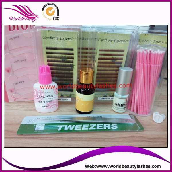 Hot sale Eyebrow Extension Kits wholesale price hot sale cayler