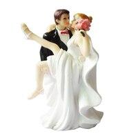 Envío! Abrazan Calurosamente La Novia y el Novio Toppers Figurita Pareja Romántica de La Boda del Pastel de Bodas para Pastel de Boda Accesorios Decorativos
