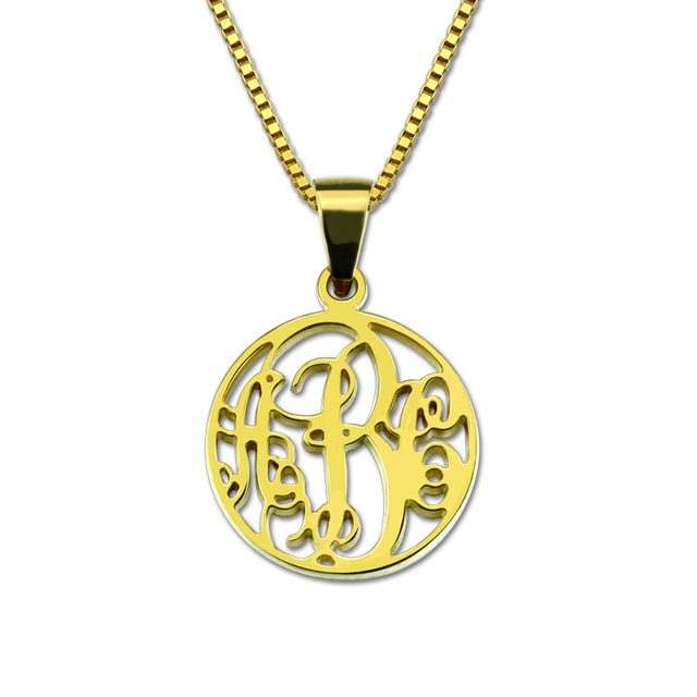 Wholesale monogram necklace letterinitial necklace gold color wholesale monogram necklace letterinitial necklace gold color circle monogrammed pendant grandma mom necklace monogram gift aloadofball Gallery