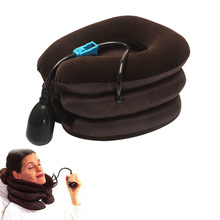 Air Cervical Soft Back and Neck massager Headache Back Shoulder Pain Cervical Traction Device Neck Massage Relaxation