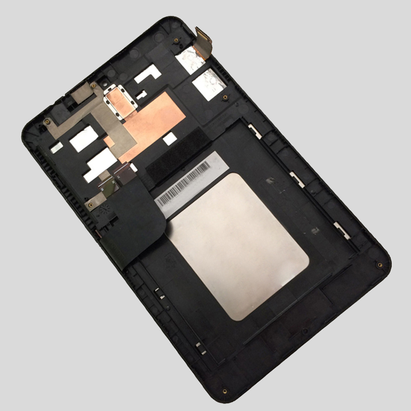 For Asus MeMO Pad HD 7 ME173 ME173X K00B K00U ( LCD For LG Edition ) Touch Screen Digitizer + LCD Display Assembly with Frame asus me173x кожаный чехол планшета asus memo pad hd7 дюймовый 360 вращающийся защитный футляр