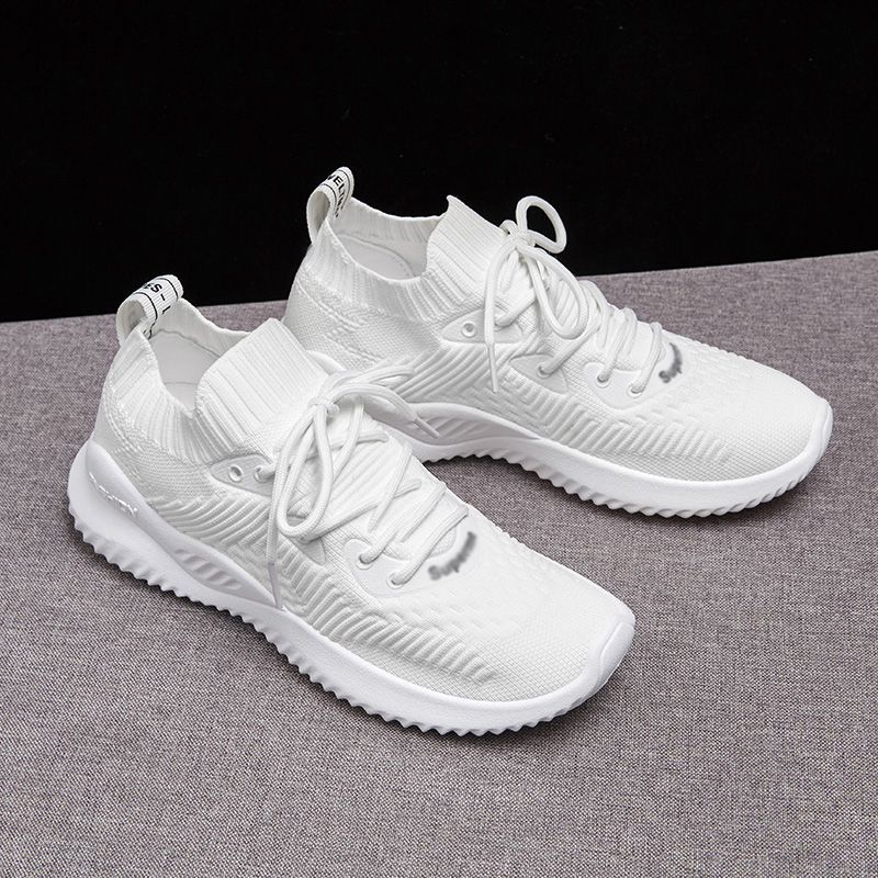 Brand 2019 New Summer Spring Mesh Breathable Light Casual Women Shoes Woman Sneakers Footwear Walking Womens Shoes Flats in Women 39 s Flats from Shoes