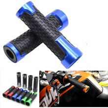 Aluminum & plastic Motorcycle Hand Grip Autobike Handlebar Handle Bar grips For Honda VTR1000F / FIRESTORM VTX1300 CB400