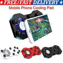 Cooling Fan Handle Game pad Holder Stand With Mini Power Bank For Mobile Phone