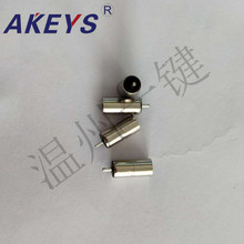 12PCS DC-3511 factory direct-selling DC power socket head straight cylinder welding full copper round hole audio plug