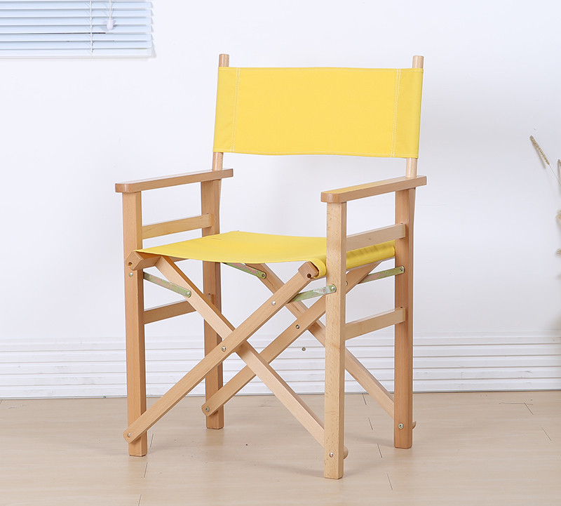 Modern Director Folding Armchair with Canvas Outdoor Garden Furniture Director Chair Foldable For Makeup Artist Chair Wooden kid size directors foldable chair in canvas fabric with beech wood children furniture wood folding portable kids director chair