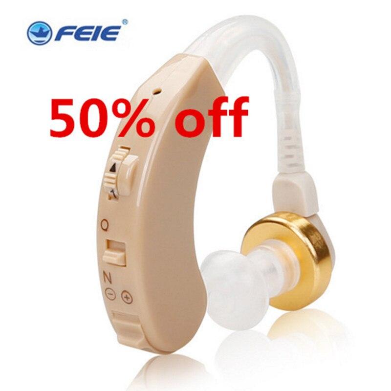 Le Plus Bas Prix Musique Équipements piles pour appareils auditifs pour sourds derrière l'oreille S-138 aparelho par surdez