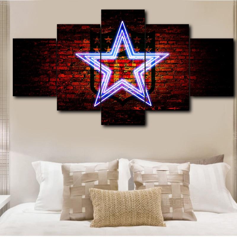 Poster HD Print Modern Art Canvas Living Room 5 Pieces ...