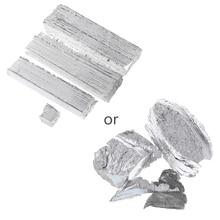 лучшая цена Useful 1pc Magnesium Metal Ingot High Purity Lab Chemicals 99.9% Approx 100g  Magnesium Ingot