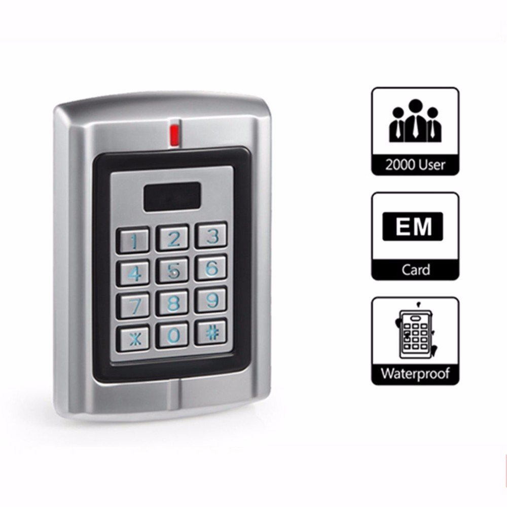 Security RFID Proximity Entry Door Lock Access Control System Device MacNWS*