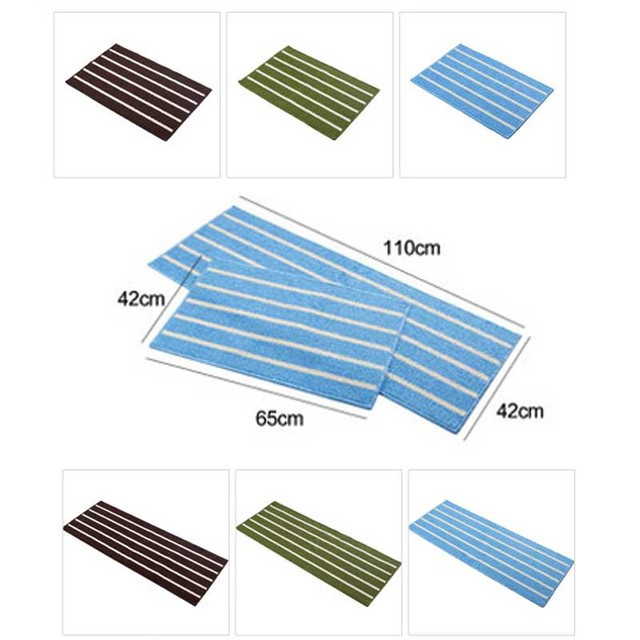 Modern Classic Tapete Simple Stripe Soft Carpet Absorbent Slip