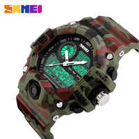 New 2017 SKMEI Brand Men Sports Watches Digital Quartz LED Military Watch Multifunctional Wristwatches Relogio Masculino