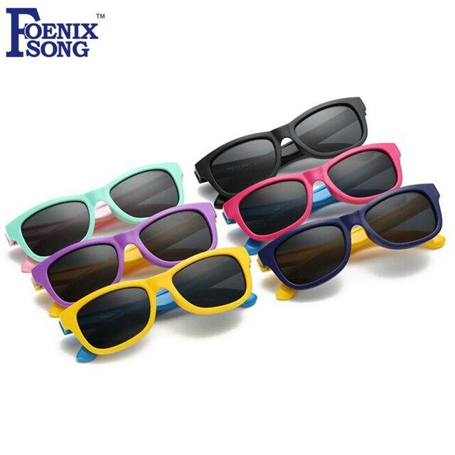 7f94b708a FOENIXSONG Nova Infantil Crianças Polarizada Óculos De Sol Das Crianças  óculos de Sol Óculos de Proteção