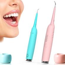 Upgrade Elektrische Sonic Tandheelkundige Scaler Tanden Whitening Tool Tandsteen Plaque Vlekken Calculus Remover Dental Cleaning Tand Gereedschap