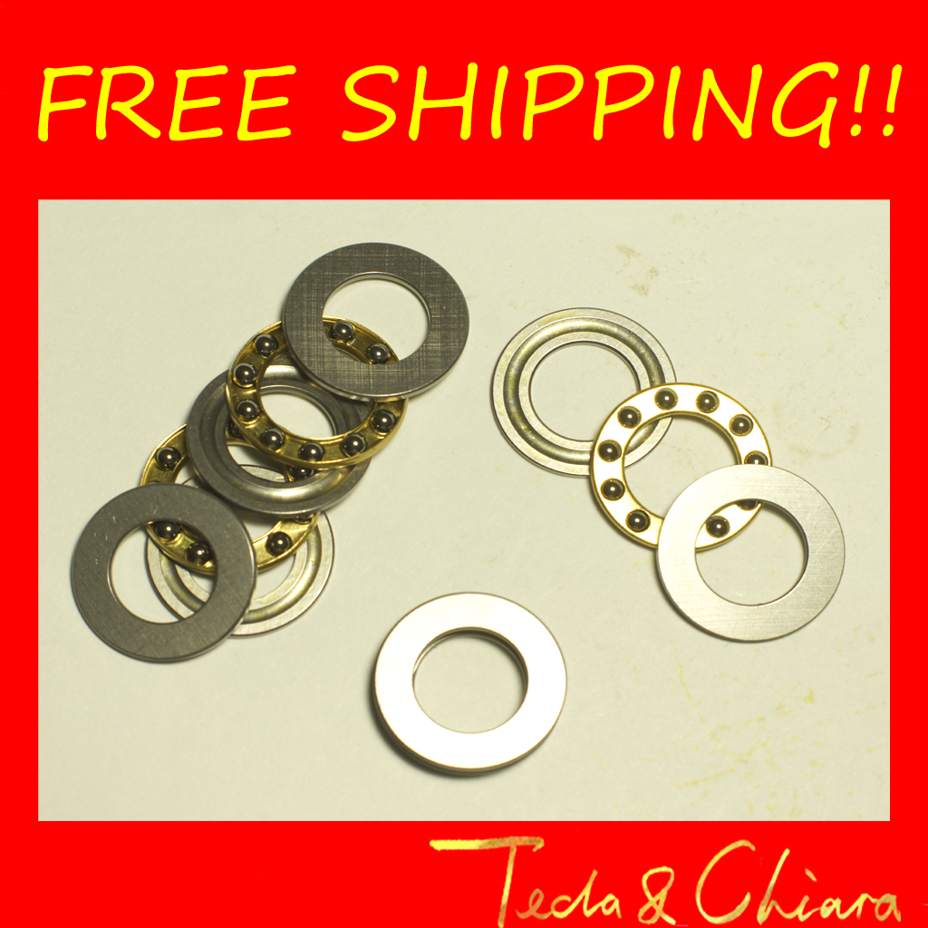 5Pcs F12-21M Axial Ball Thrust Bearings 12mm x 21mm x 5mm Free shipping High Quality цена