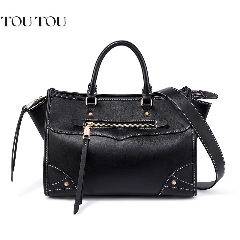TOUTOU Handbags High Quality The new fashion personality locomotive package big capacity of the single shoulder bag handbag novelty run around wake up n catch me digital alarm clock on wheels white 4 aaa