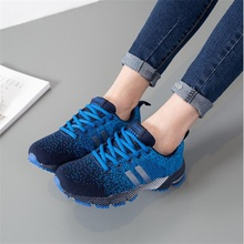 Купить с кэшбэком Explosion models ladies casual shoes breathable sports shoes women's new fashion mesh sports shoes shoes code: 36-42