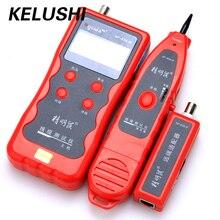 KELUSHI NF-838 Network LAN Cable Length Tester Tracker Phone LAN BNC Cable Finder USB RJ11 RJ45 Wire Tracer / Finder