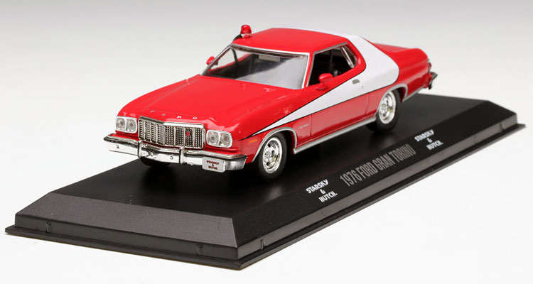 ФОТО Value Out of print GreenLight 1:43 1976 Ford Gran Torino Alloy car model Collection model
